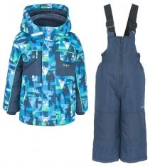 Купить комплект куртка/полукомбинезон zingaro by gusti, цвет: голубой/синий ( id 9911151 )