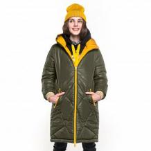Купить пальто boom by orby, цвет: желтый ( id 11689774 )