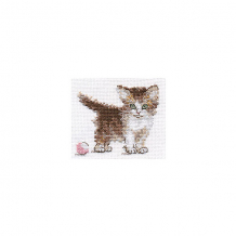 """Купить набор для вышивания алиса """"маленькая киса"""" 10х8 см ( id 16690831 )"""