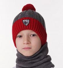 Купить шапка журавлик николас, цвет: красный ( id 10401140 )
