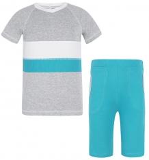 Купить комплект футболка/бриджи трифена, цвет: белый/серый ( id 5918821 )