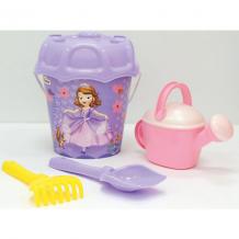 """Купить набор игрушек для песочницы полесье """"disney софия прекрасная"""" № 3, 5 предметов ( id 7992093 )"""