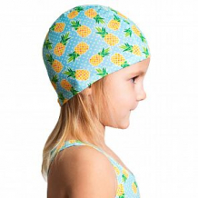 Купить шапка для плавания aruna ананасы, цвет: голубой/желтый ( id 12611902 )