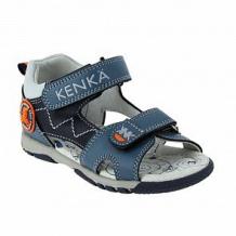 Купить сандалии kenka, цвет: голубой ( id 12504880 )