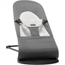 Купить кресло-шезлонг babybjorn balance soft cotton jerrsey серый 4263528