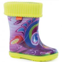 "Резиновые сапоги со съемным носком Demar Hawai Lux Print ""Хиппи"" ( ID 4576121 )"