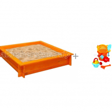 Купить paremo песочница деревянная афина с набором игрушек для песка gowi слоненок