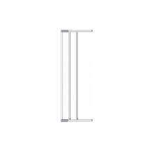 Купить дополнительная секция к воротам безопасности 18 см, clippasafe, серебристый 4722141