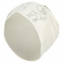 Купить шапка levelpro kids кошечки, цвет: бежевый/белый ( id 10458359 )