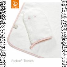 Купить полотенце с капюшоном stokke pink bee ocs stokke 997007314