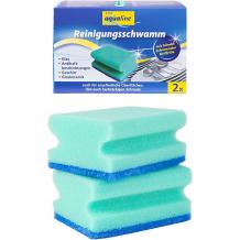 Купить аквалайн губка для мытья посуды, 2 шт. ( id 16370539 )