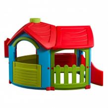 Купить palplay (marian plast) игровой домик вилла с 1 пристройкой 662