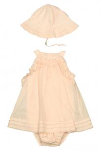 Купить комплект: платье-боди, панама chloe ( размер: 71 9м ), 12087335