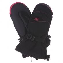 Купить варежки сноубордические женские pow xg long mitt lilac черный