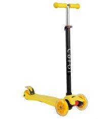 Купить самокат corol l-305, цвет: желтый l-305 yellow