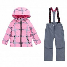 Купить комплект куртка/полукомбинезон stella's kids nizza, цвет: розовый ( id 12493768 )