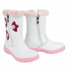 Купить сапоги зебра, цвет: белый/розовый ( id 6905605 )