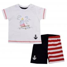 Купить комплект футболка/шорты kidaxi, цвет: красный ( id 10599896 )