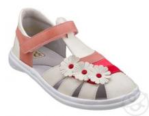 Купить сандалии топ-топ, цвет: белый/розовый ( id 11436826 )