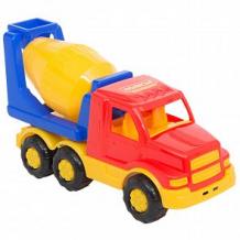Купить автомобиль полесье бетоновоз «гоша» красно-синий ( id 12051940 )