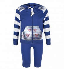 Спортивный костюм кофта/брюки Pelican 103410, цвет: голубой ( ID 1352930 )