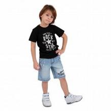 Купить футболка leader kids рок звезда, цвет: черный ( id 11447578 )