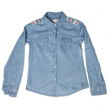 Купить рубашка детская roxy waterpriorities light blue синий ( id 1167210 )