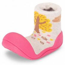 Купить пинетки attipas, цвет: розовый ( id 12171202 )