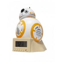 Купить часы star wars звёздные войны будильник bulbbotz минифигура bb-8 14 см 2021395