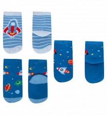 Купить носки 3 пары yo!, цвет: синий/голубой ( id 10263284 )