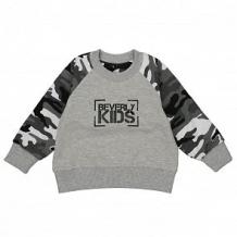 Купить толстовка beverly kids, цвет: серый ( id 11998768 )