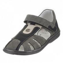 Купить сандалии топ-топ, цвет: серый/черный ( id 12506554 )