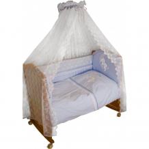 Купить бортик в кроватку сонный гномик лунный зай 120х60 140