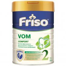Купить friso заменитель vom 2 с пребиотиками 6-12 мес 800 г 408068