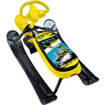 """Купить снегокат nika """"ника кросс"""" winter sport, чёрный каркас ( id 12657234 )"""