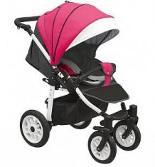 Прогулочная коляска Camarelo Eos, цвет: фуксия/темно-серый ( ID 9608682 )