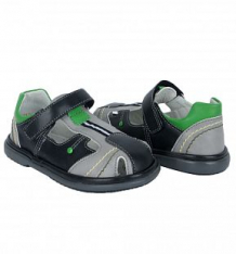 Купить сандалии топ-топ, цвет: серый/черный ( id 9981690 )