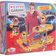 """Купить игровой набор faro """"гараж"""" 2 уровня, 35 см 7193413"""