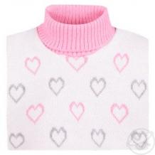 Купить шарф-воротник aliap, цвет: розовый ( id 10976678 )