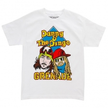 Купить футболка детская grenade danny & dingo white белый ( id 1167453 )