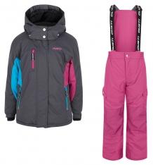 Купить комплект куртка/полукомбинезон gusti boutique, цвет: серый ( id 6495085 )