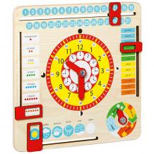 """Купить игрушка развивающая master wood """"часы и календарь"""" ( id 7920686 )"""