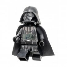 Купить часы lego будильник star wars минифигура darth vader 7001002
