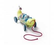 Купить каталка-игрушка lilliputiens на верёвочке крокодил анатоль 83004