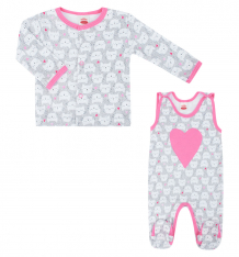 Купить комплект makoma cats, цвет: серый/розовый ( id 6585091 )