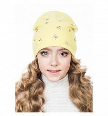 Купить шапка levelpro kids полина, цвет: желтый ( id 10116495 )