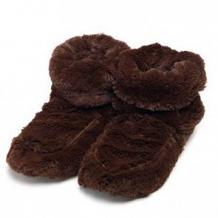 Купить сапожки-грелки cozy plush, цвет: коричневый ( id 12004270 )