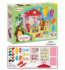 Купить набор для лепки маша и медведь в гостях у маши ( id 10481003 )