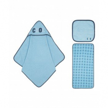Купить набор полотенец mothercare, 3 шт. в упаковке, цвет: голубой mothercare 4223076