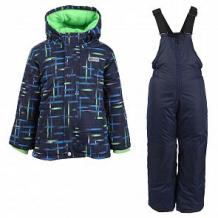 Купить комплект куртка/полукомбинезон salve, цвет: синий ( id 10675703 )